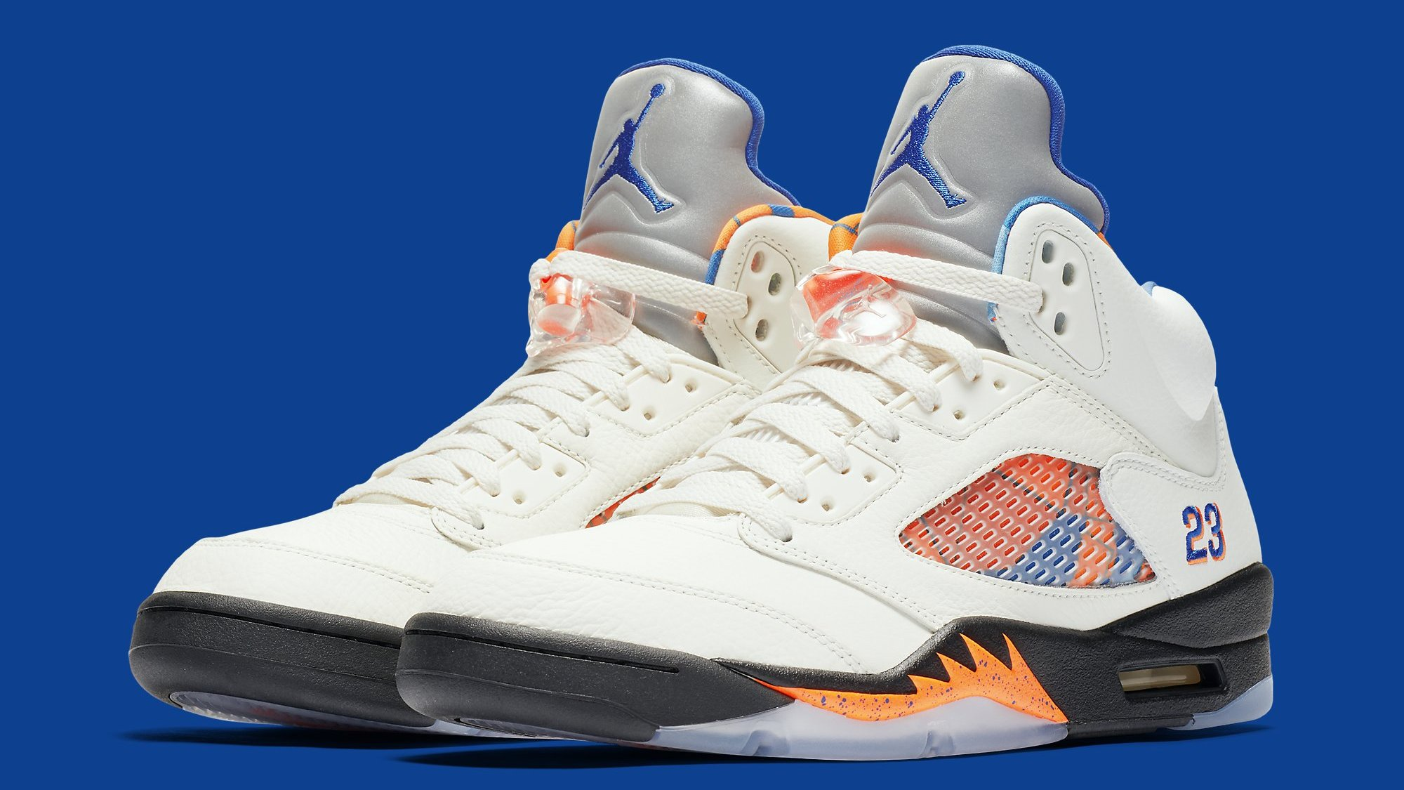 microscópico Grave Radar  Air Jordan 5 V Sail Orange Peel Black Hyper Royal Release Date 136027-148 |  Sole Collector