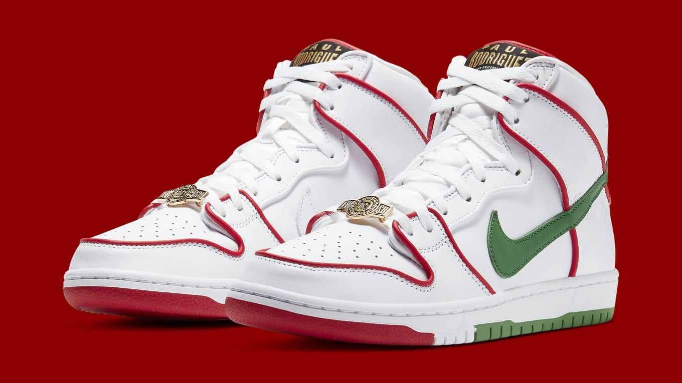 tomar hielo milagro  Paul Rodriguez x Nike SB Dunk High Release Date CT6680-100 | Sole Collector