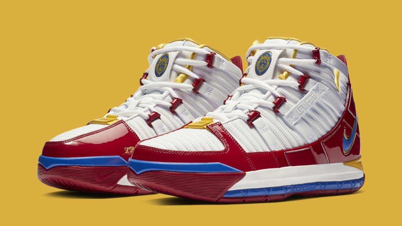 25d627bef715a Nike Zoom LeBron 3 SB  SuperBron  AO2434-100 Release Date
