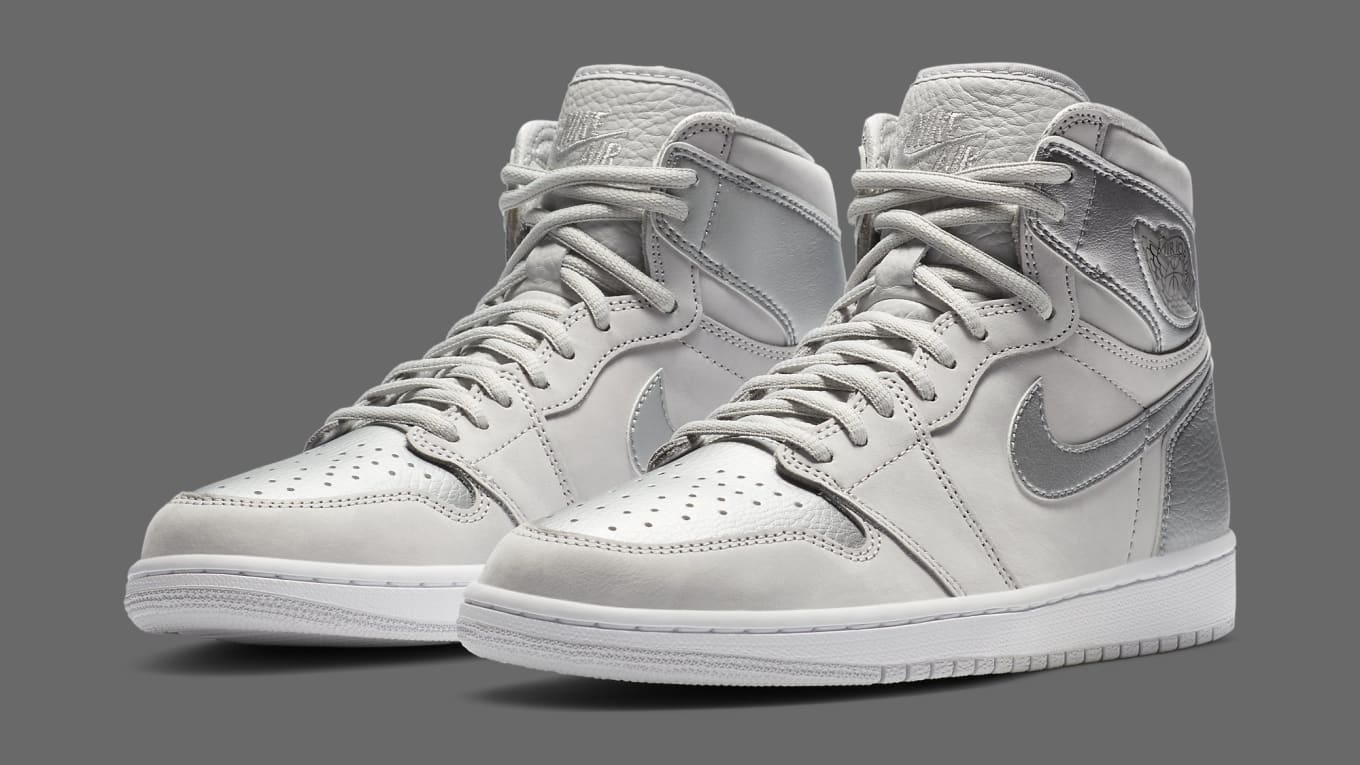 Air Jordan 1 Retro High OG CO.JP 'Metallic Silver' Release ...