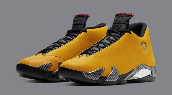 new product 9a067 145bd The  Yellow Ferrari  Air Jordan 14 Is Almost Here