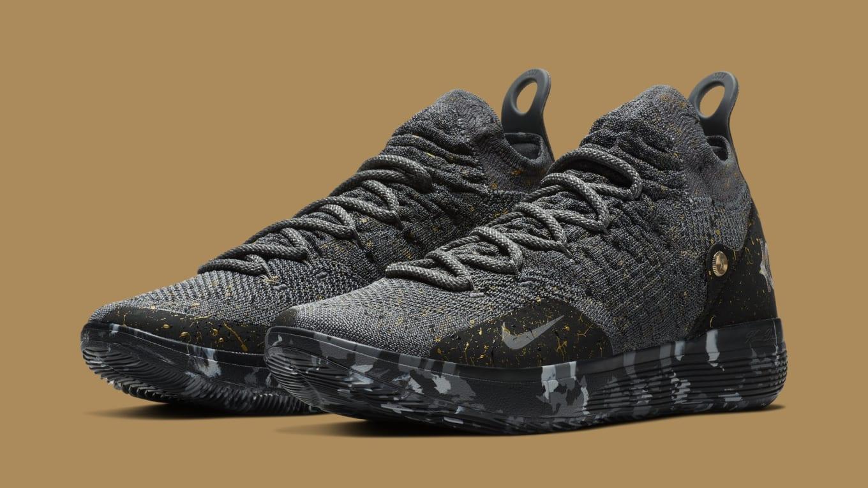 Nike KD 11 Gold Splatter AO2604-901 Release Date  Sole Colle