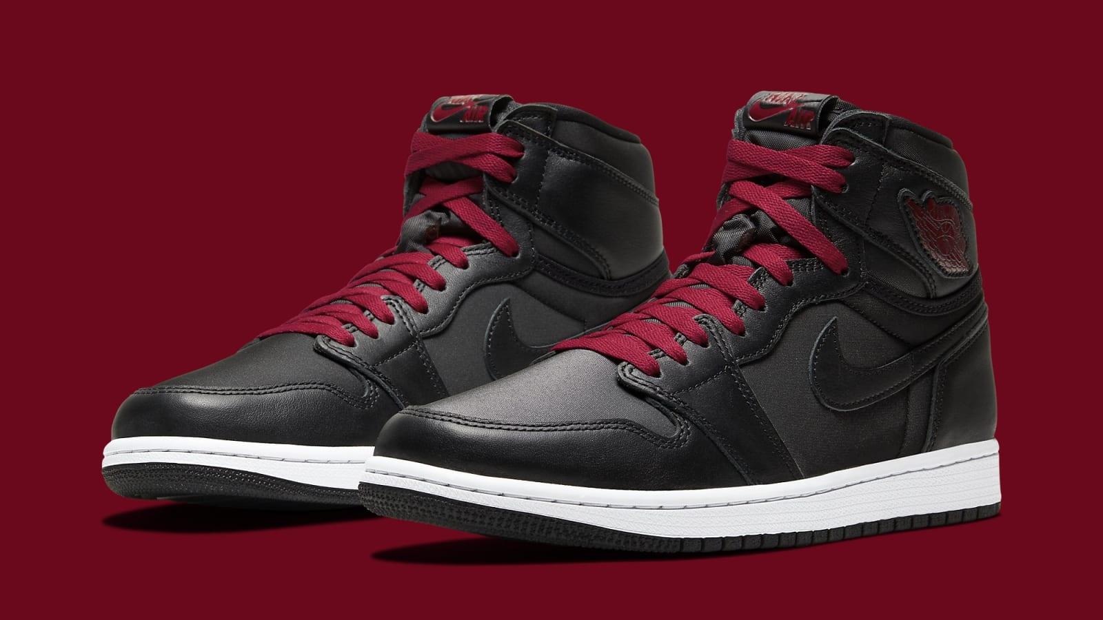 "Air Jordan 1 High OG ""Black Satin"" Coming Soon: Official Photos"