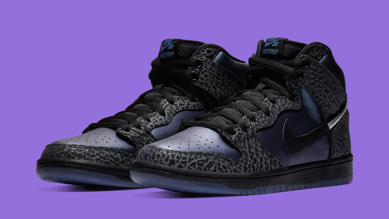 san francisco cbf99 20571 The Black Sheep x Nike SB Dunk High Black Hornet Is Dropping Again Next  Weekend