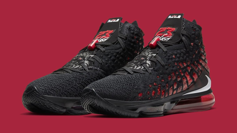 Nike LeBron 17 'Infrared' BQ3177-006 Release Date | Sole ...