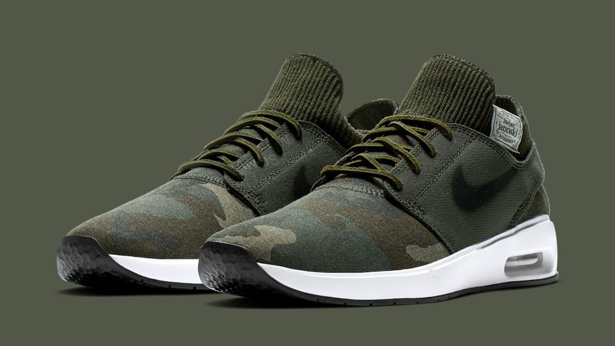 b86d8de3a8 Nike SB Air Max Janoski 2 AQ7447-001 AQ7447-100 AT5878-203 Release Date |  Sole Collector