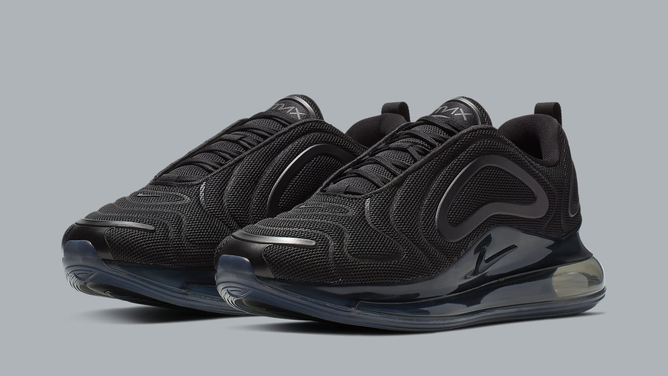 big sale 22571 13f2a Nike Air Max 720 'Triple Black' Release Date AO2924-007 ...