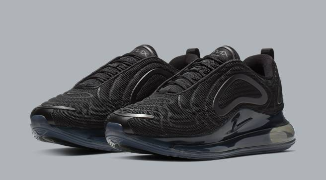 Official Look at the  Triple Black  Nike Air Max 720 Releasing Soon cfcee5ca34078