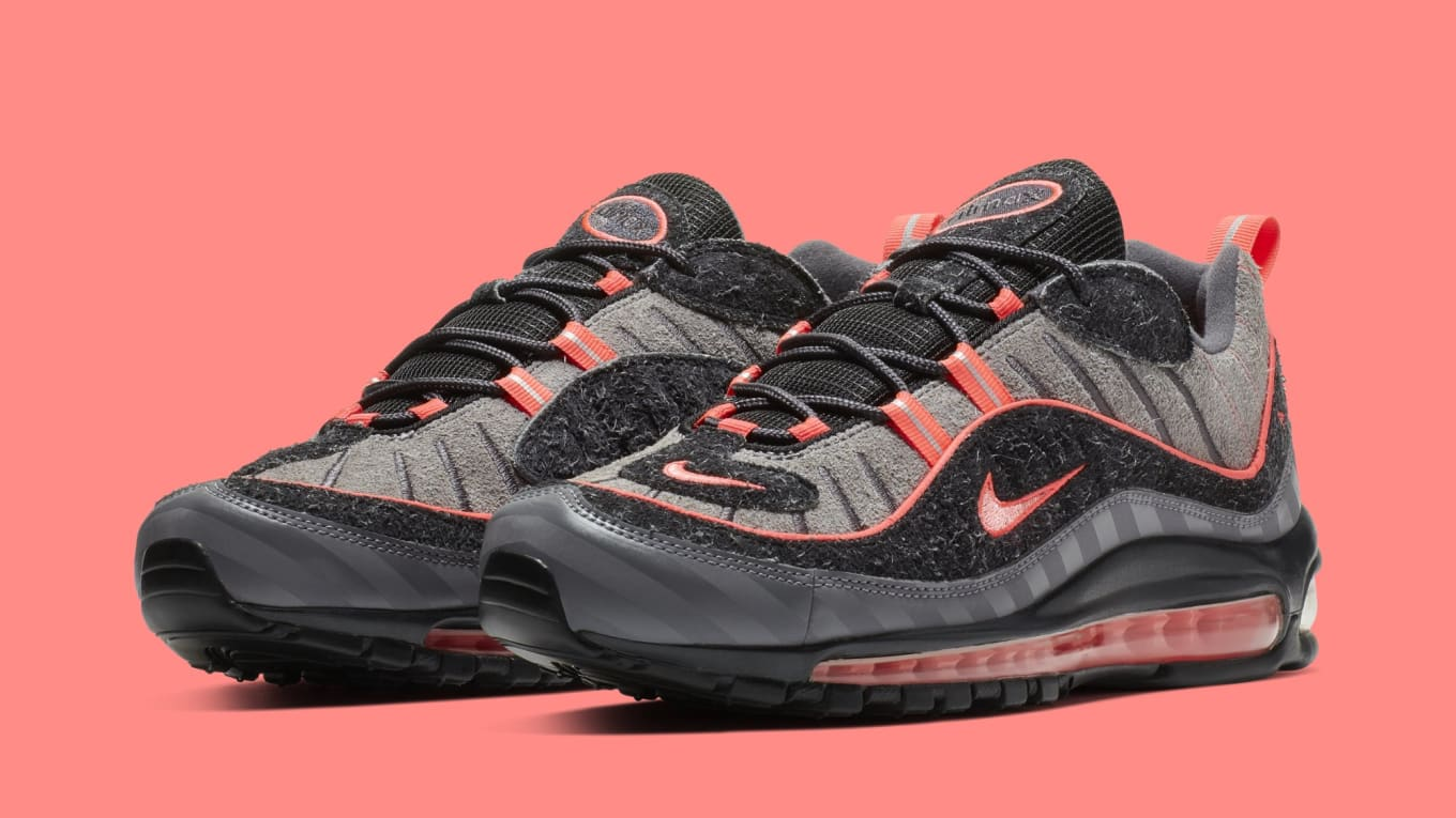 0c59efa96627 Nike Air Max 98  Gunsmoke Lava Glow-Thunder Grey-Oil Grey  BV6046 ...