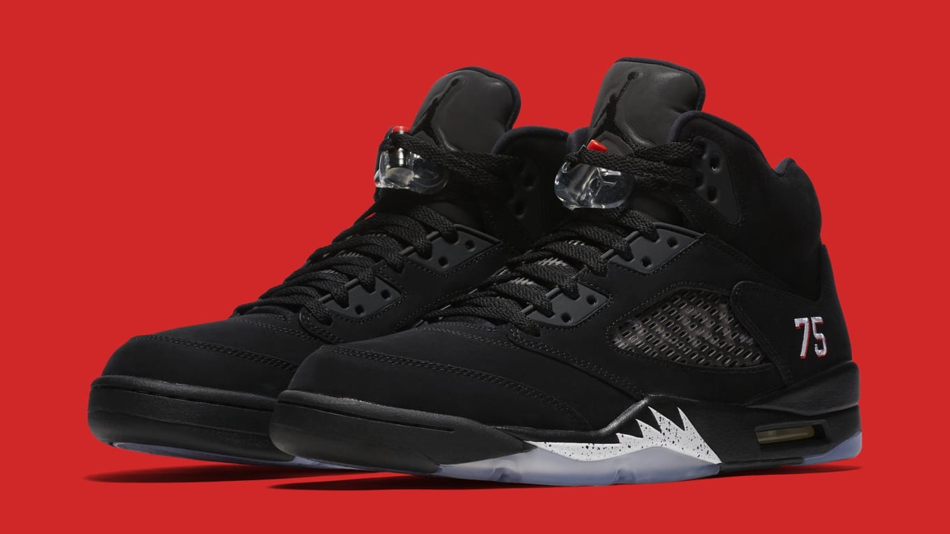 55cc7f61fd5 Paris Saint-Germain's Air Jordan 5s Will Cost $225. The latest update for  the upcoming retro.