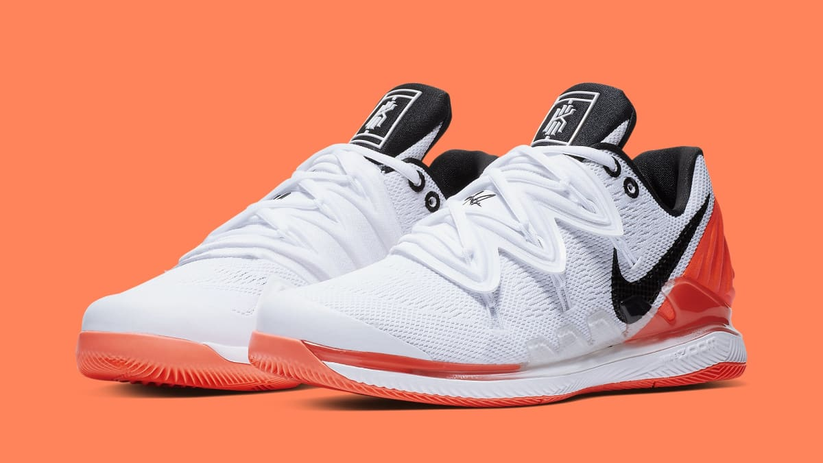 ded77f18f07c Kyrie Irving x Nick Kyrgios NikeCourt Vapor X  Kyrie 5  BQ5952-100 Release  Date