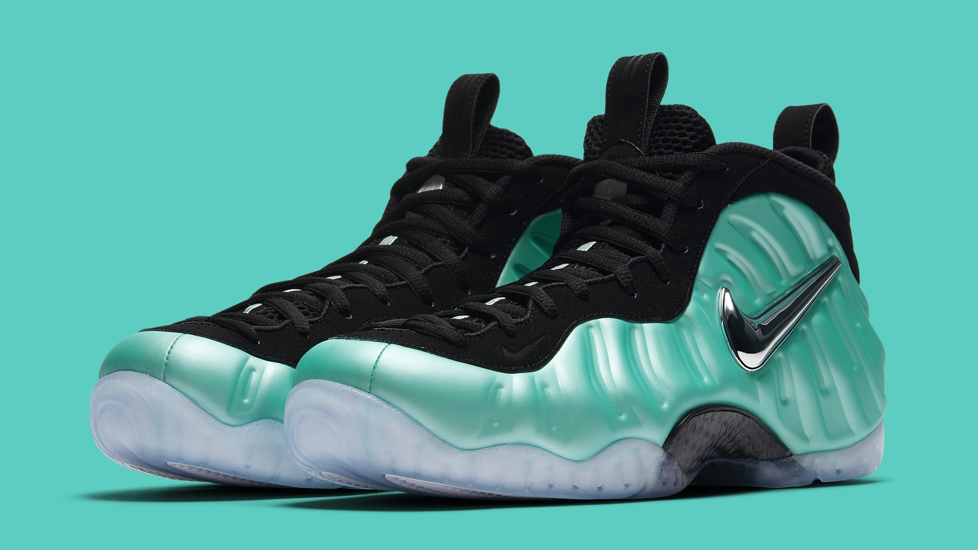 brand new 77eb4 d46dc Island Green Nike Air Foamposite Pro 624041-303 | Sole Collector