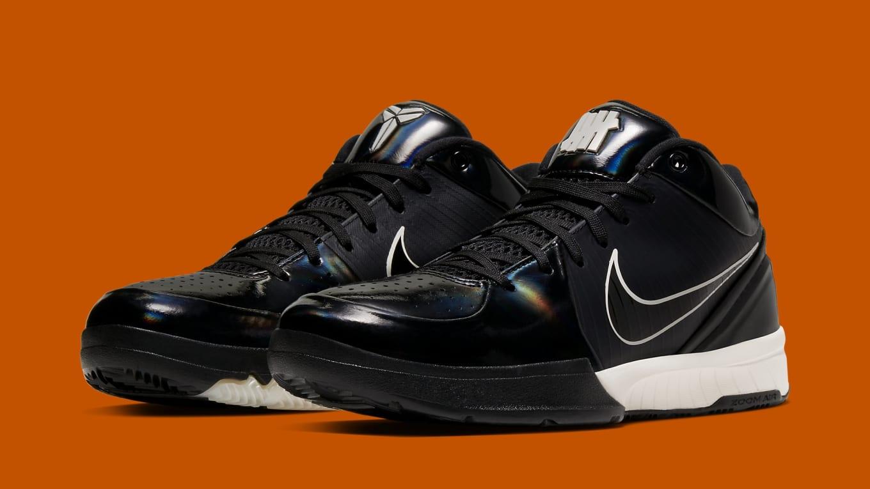 meet 5fd16 aa050 Undefeated x Nike Kobe 4 Protro 'Black Mamba' CQ3869-001 ...