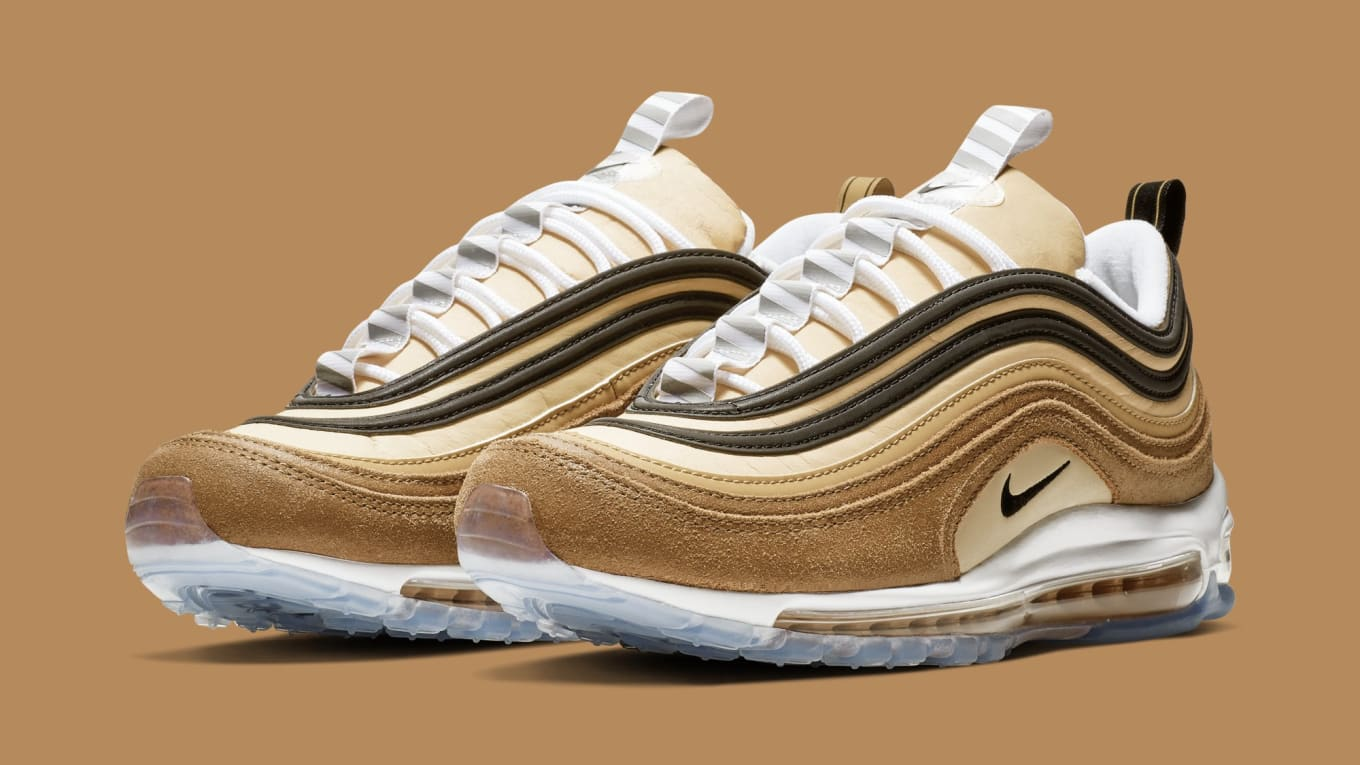 63e7b2f94608 Nike Air Max 97  Ale Brown Black-Elemental Gold  921826-201 Release ...