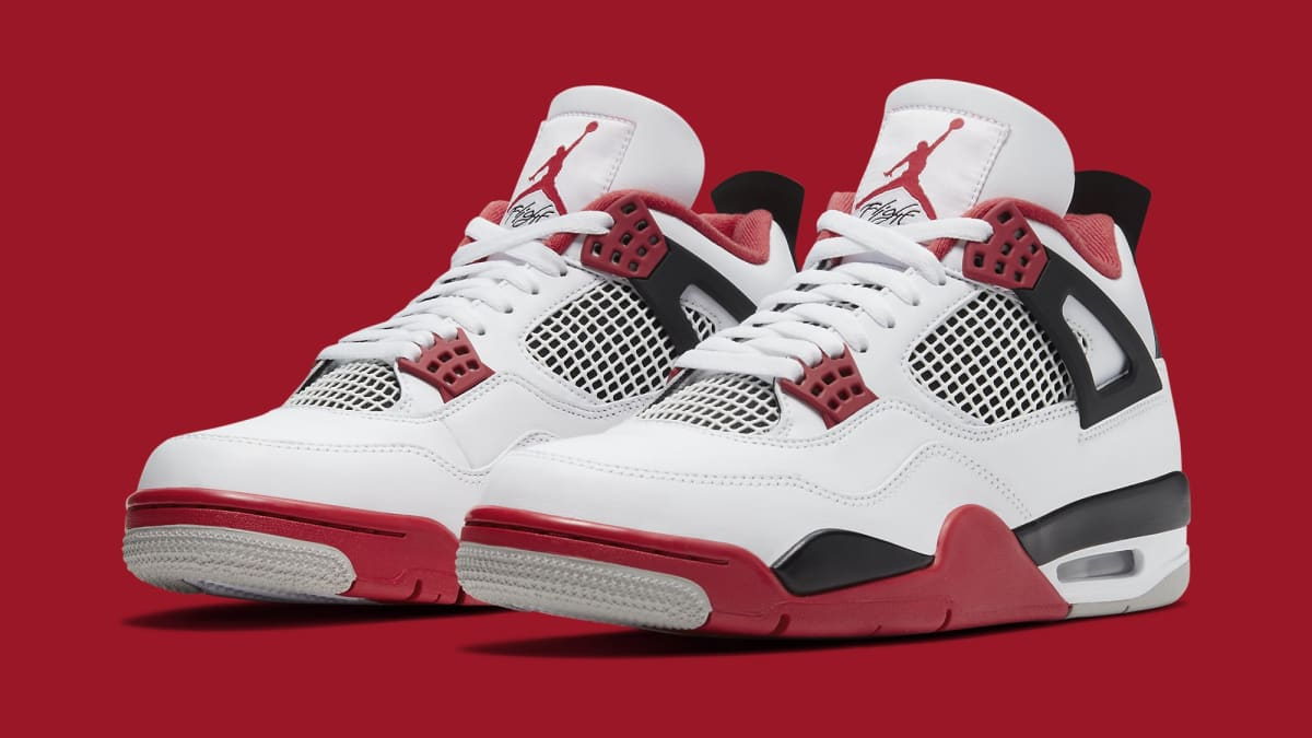 Air Jordan 4 IV Fire Red 2020 Release Date DC7770-170 | Sole Collector