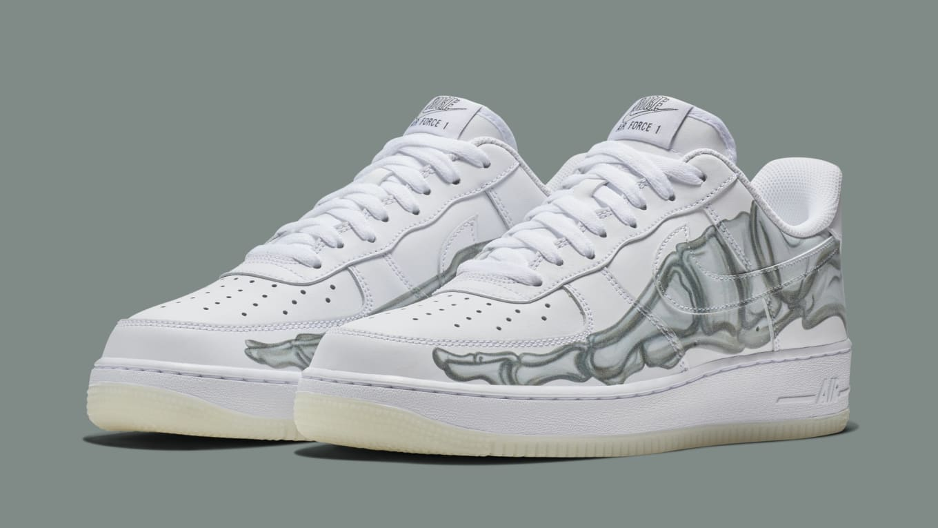 Nike Air Force 1 QS  Skeleton  Release Date  b1ec78315
