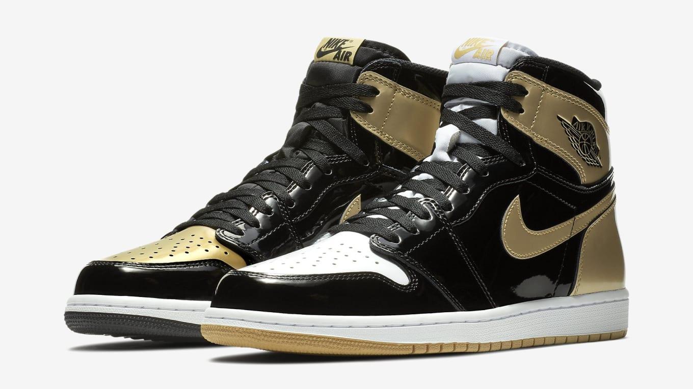 Air Jordan 1 Top 3 Gold 21 Mercer Release | Sole Collector
