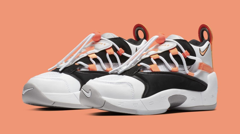 a2056b67a78 Nike Air Swoopes 2  White Orange Pulse-Black-White  917592-102 ...