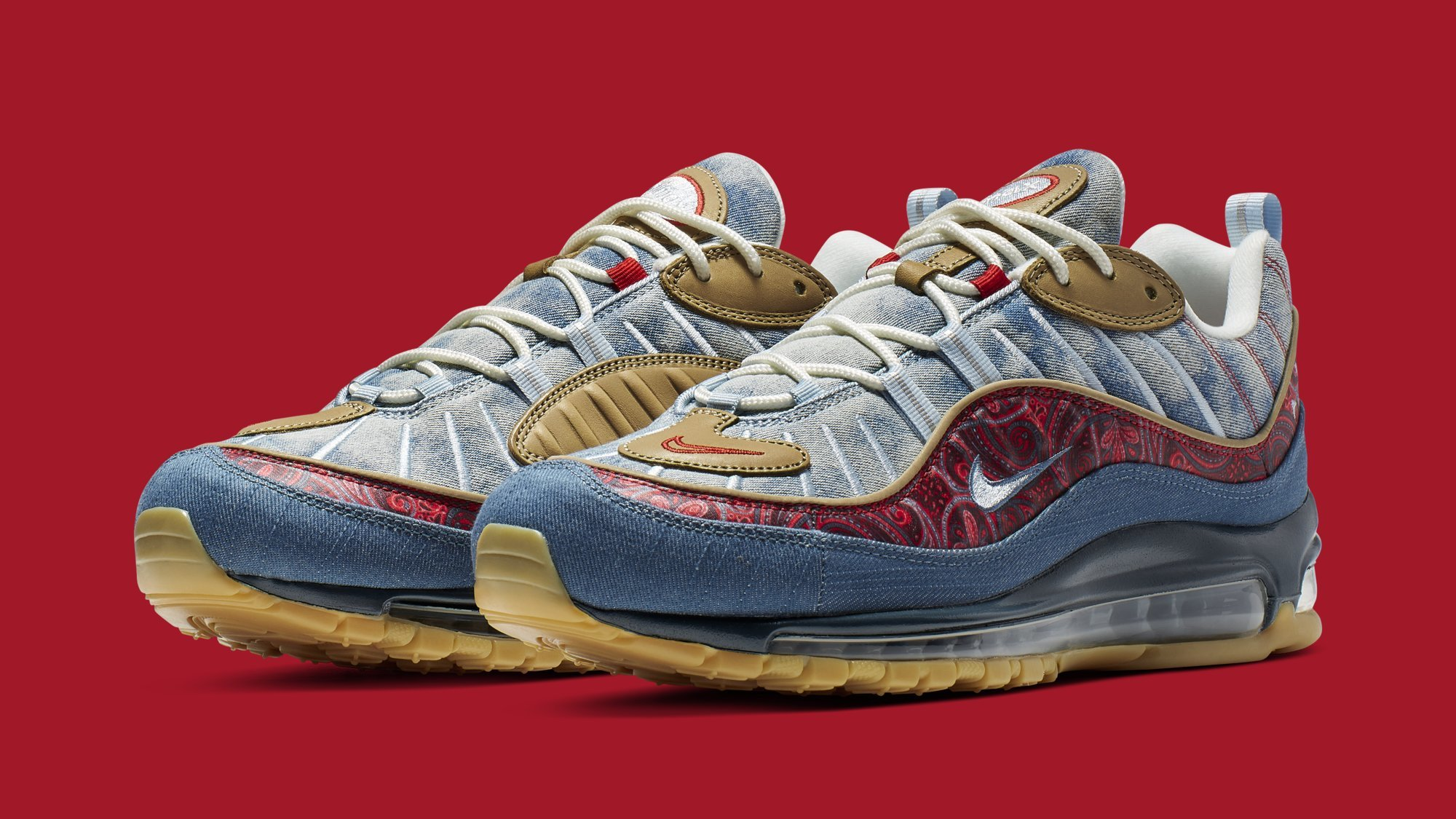 eb584d73 Nike Air Max 95 BV6059-200 Air Max 97 BV6056-200 Air Max 98 BV6045-400  'Wild West' Pack Release Date | Sole Collector