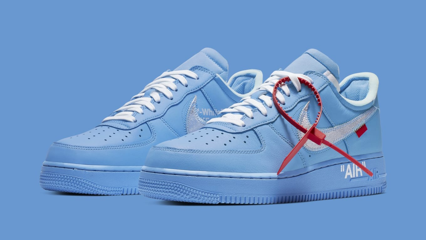 b143d2eeaae2b Virgil Abloh's New Air Force 1s Aren't Releasing at MCA Chicago ...
