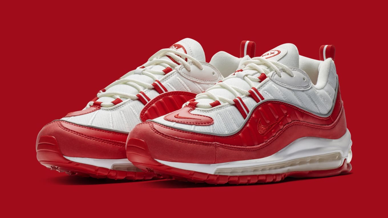 superior quality 62753 aa0bb Nike Air Max 98 'University Red' 640744-602 Release Date ...