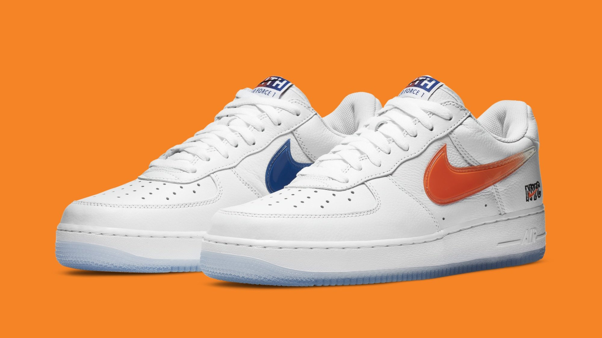 Kith x Nike Air Force 1 Low 'New York' Release Date CZ7928-001 ...