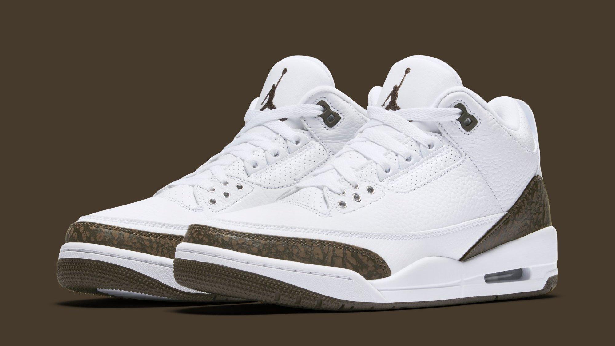 Air Jordan 3 'Mocha' Release Date December 2018 136064-122   Sole ...