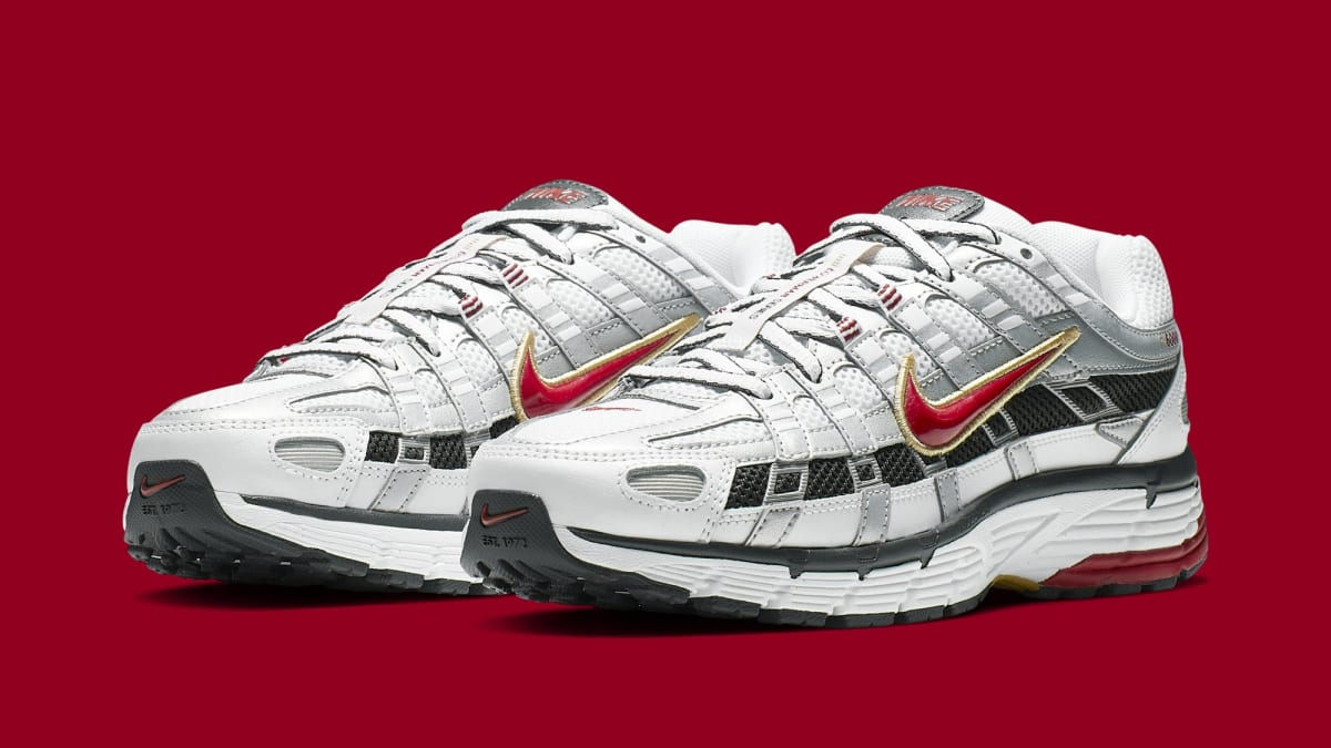 huge selection of c0fb8 f2aeb Nike P-6000 CNPT  Black Black  BV1021-002  Metallic Silver White University  Red  BV1021-101 Release Date   Sole Collector