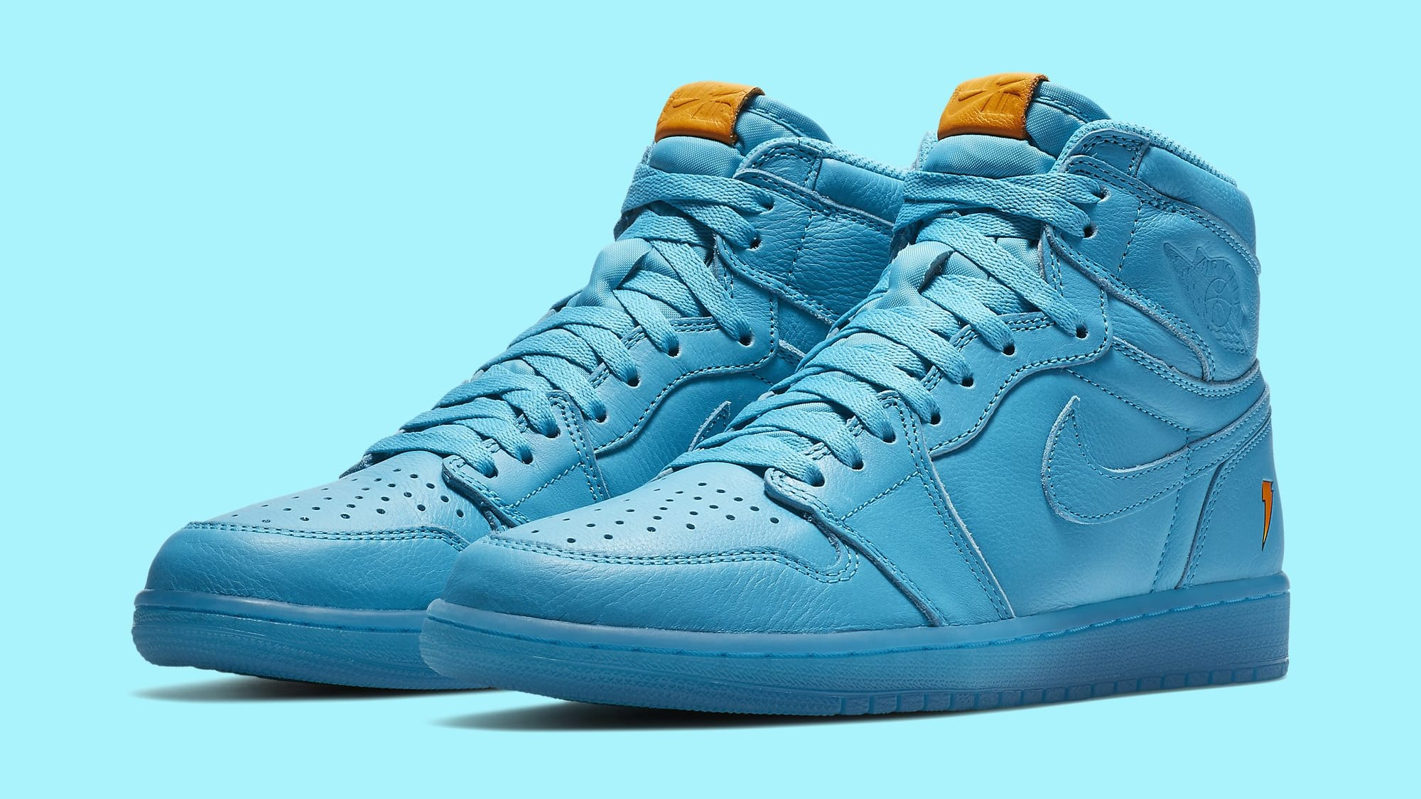 Nike/Jordan Blue Lagoon Gatorade Shoes Size 11