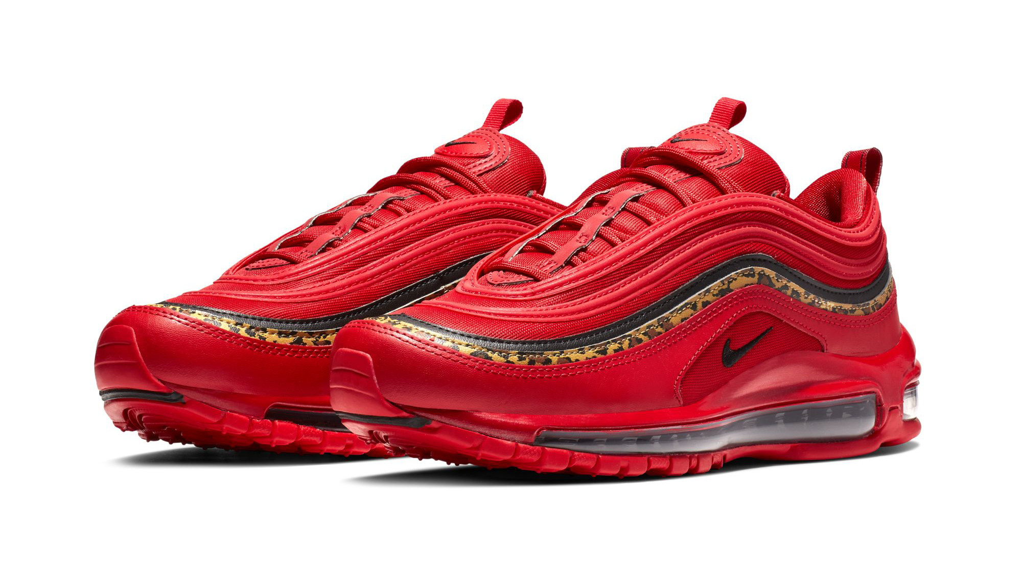 Nike Air Max 97 'Red/Leopard' Images | Sole Collector