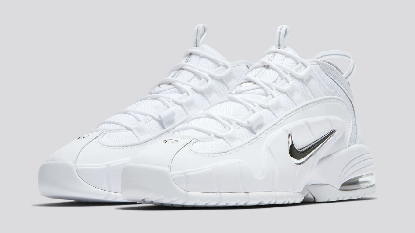 773415fce9 Release Details for the 'White Metallic' Nike Air Max Penny 1. Summer-ready  colorway releasing next Friday.