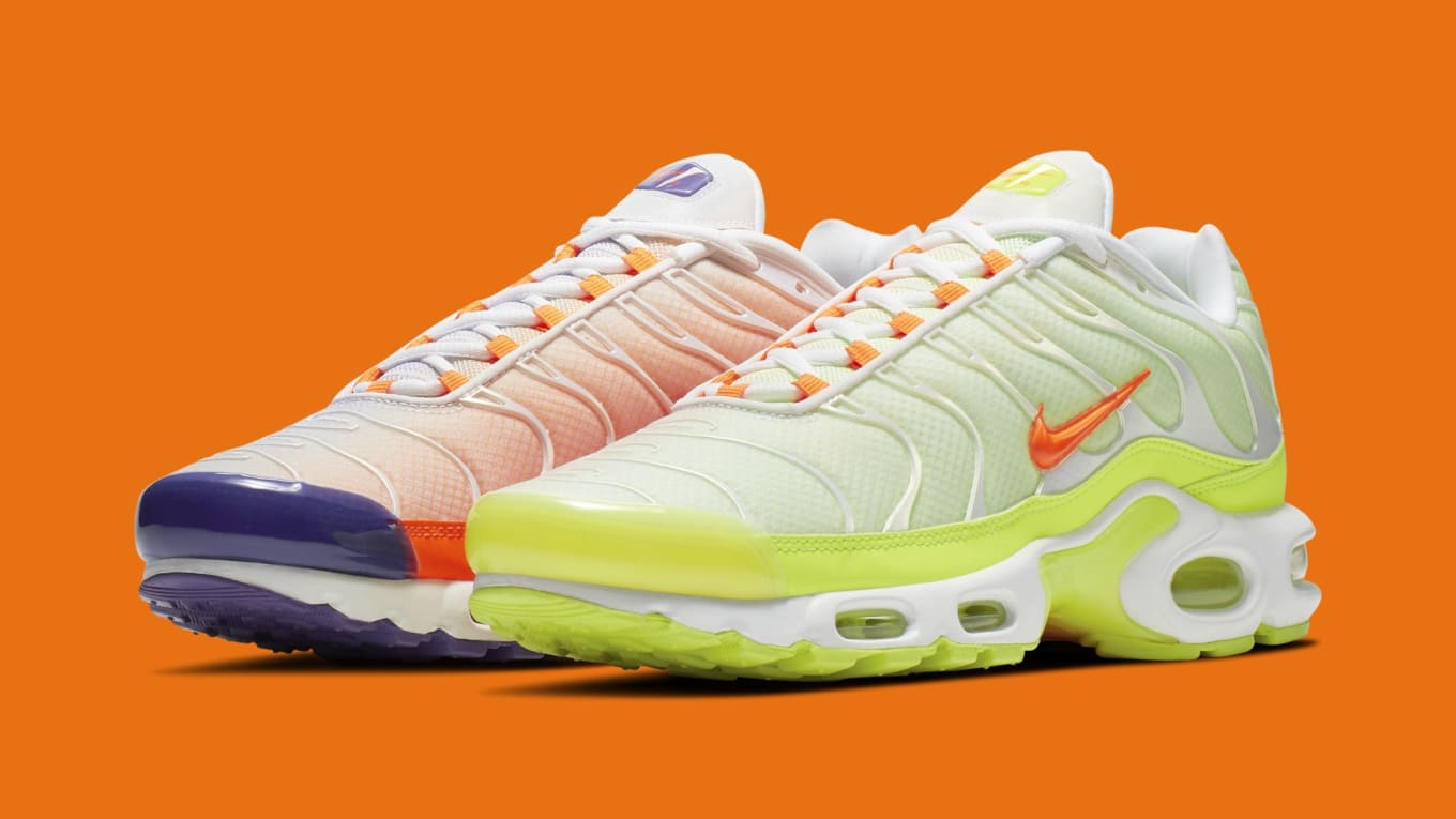 bas prix 82bbb 382a4 Nike Air Max Plus 'Color Flip' White CI5924-531 Black CI5924 ...