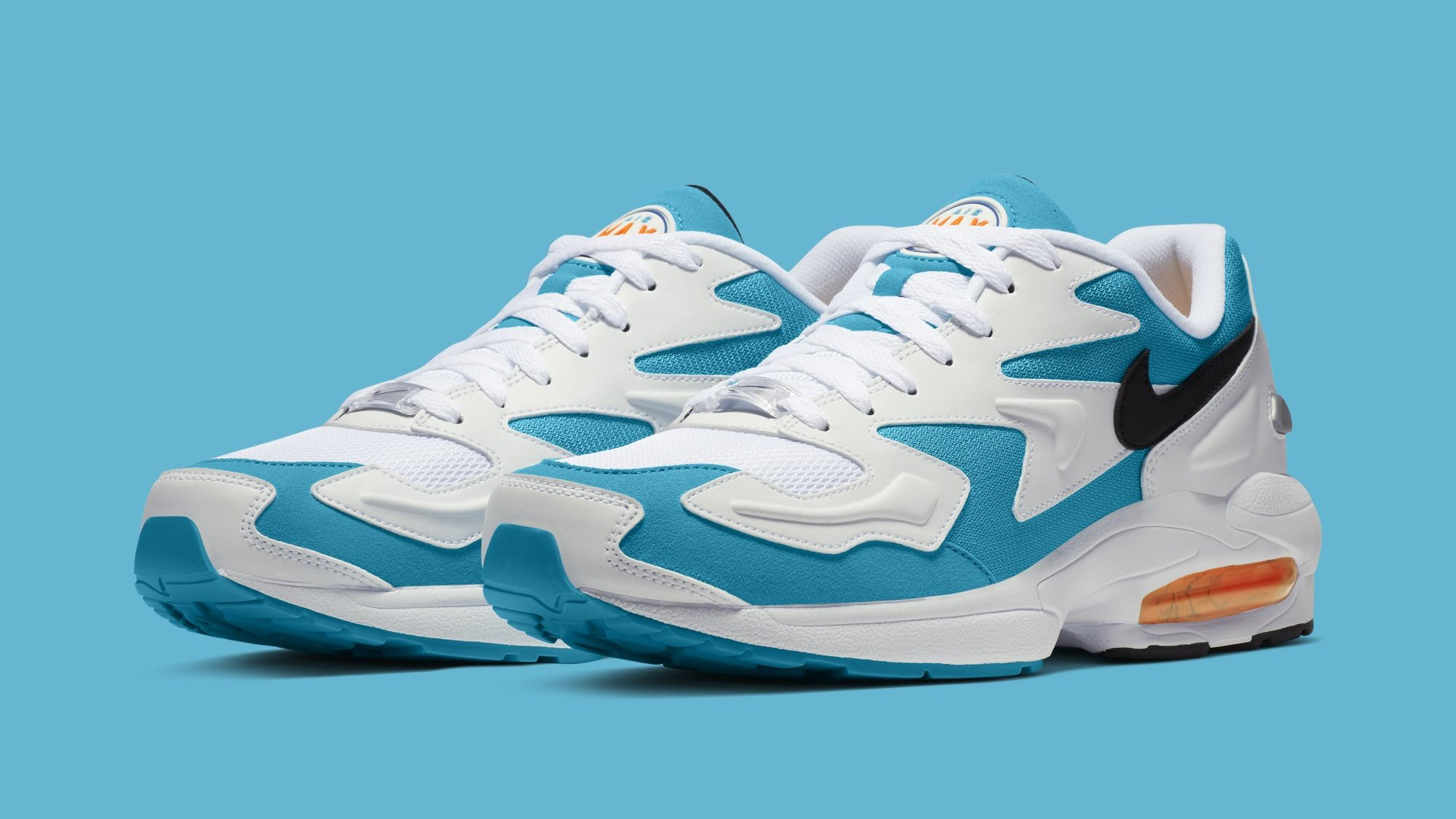 newest collection 1f315 960a3 Nike Air Max2 Light  Blue Lagoon  AO1741-100 Release Date   Sole Collector