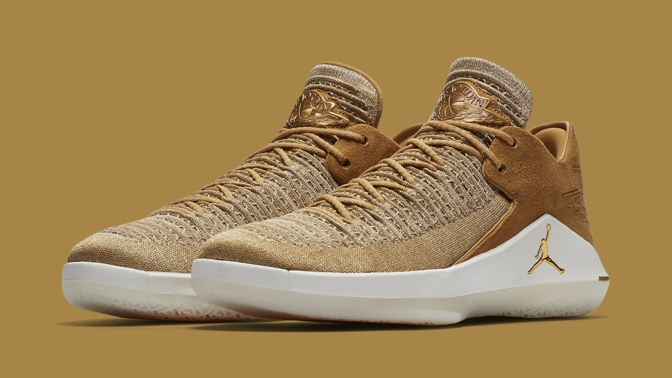 fdf4cfa5921 Air Jordan 32 Low Golden Harvest Release Date AA1256-700 | Sole ...