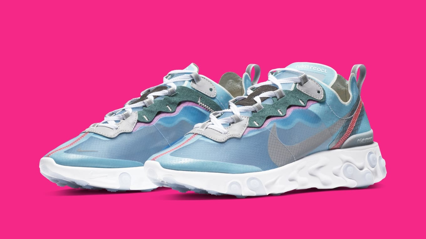 b66dcd63c754 Nike Gives the React Element 87 the  South Beach  Treatment. Vibrant  colorway slated to release next month.