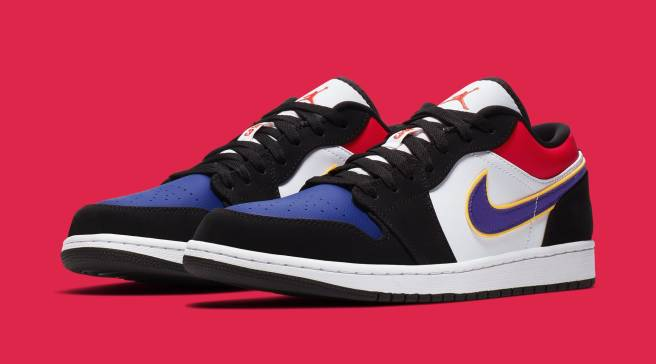 9265a8d4822 Is This Air Jordan 1 Low Inspired By MJ's NBA Finals Opponents?