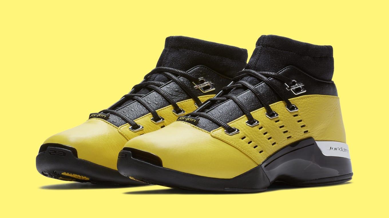 af6e5341c0aaf3 SoleFly x Air Jordan 17 XVII Low Lightning Release Date AJ7321-003 ...