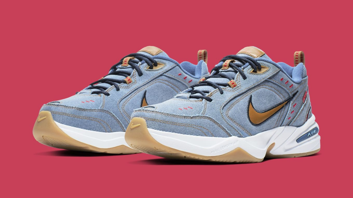 Nike Air Monarch 4 'Father's Day 2019' AV6676 400 Release