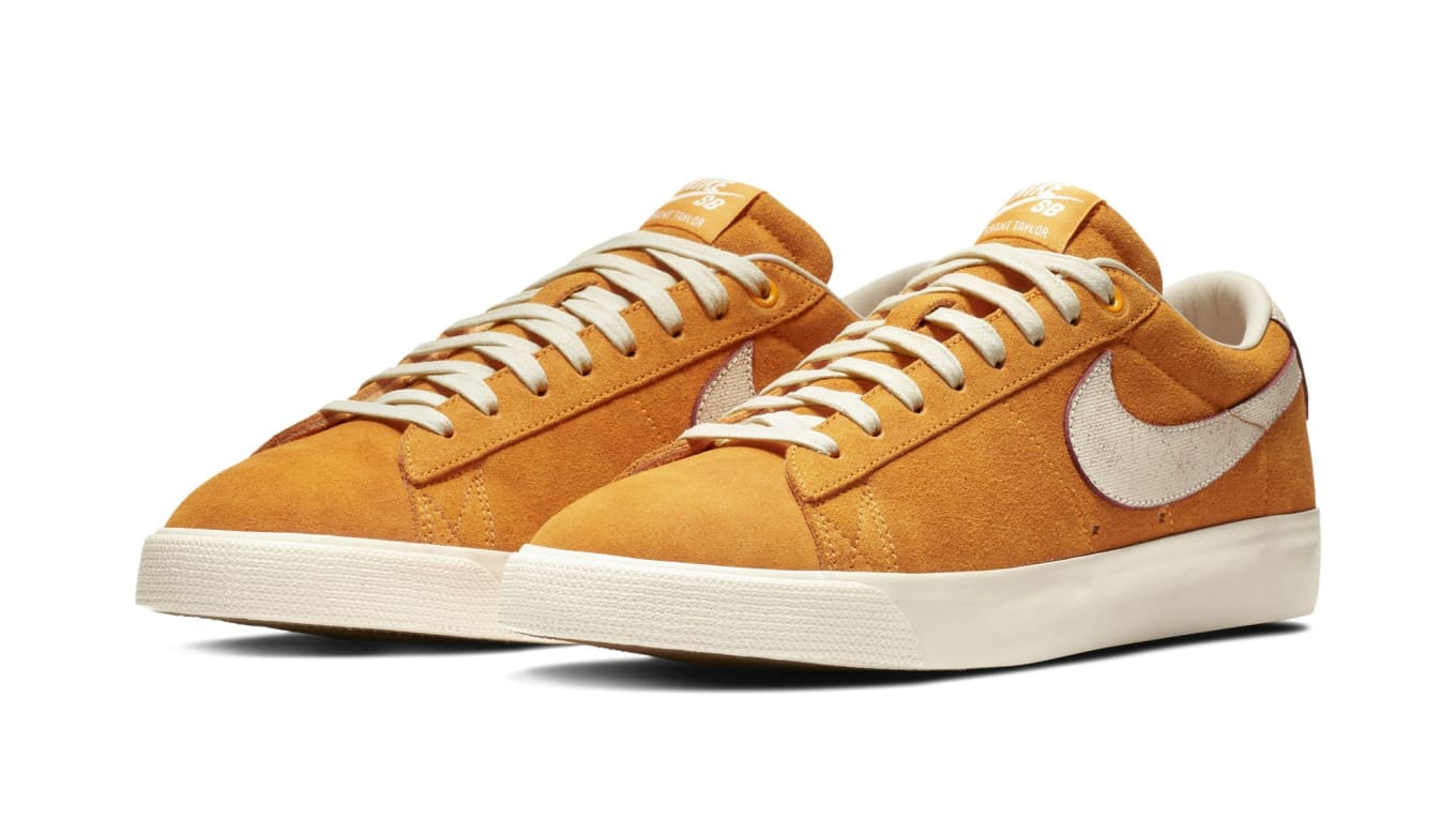 f608a0cb030c Nike SB Made Georgia-Inspired Blazers. Georgia Peach theme for pro Grant  Taylor.