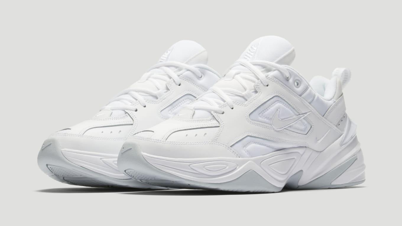 cheaper e6a07 529d0 Nike M2K Tekno  White Pure Platinum  AV4789-101 Release Date   Sole ...