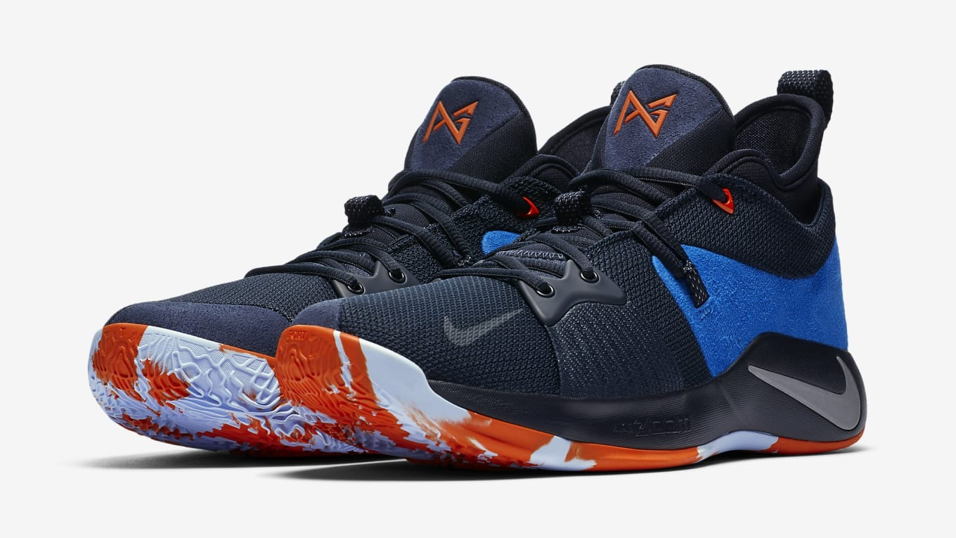34ac59dcc1ba Nike PG 2. Image via Nike. Paul George s first signature shoe ...