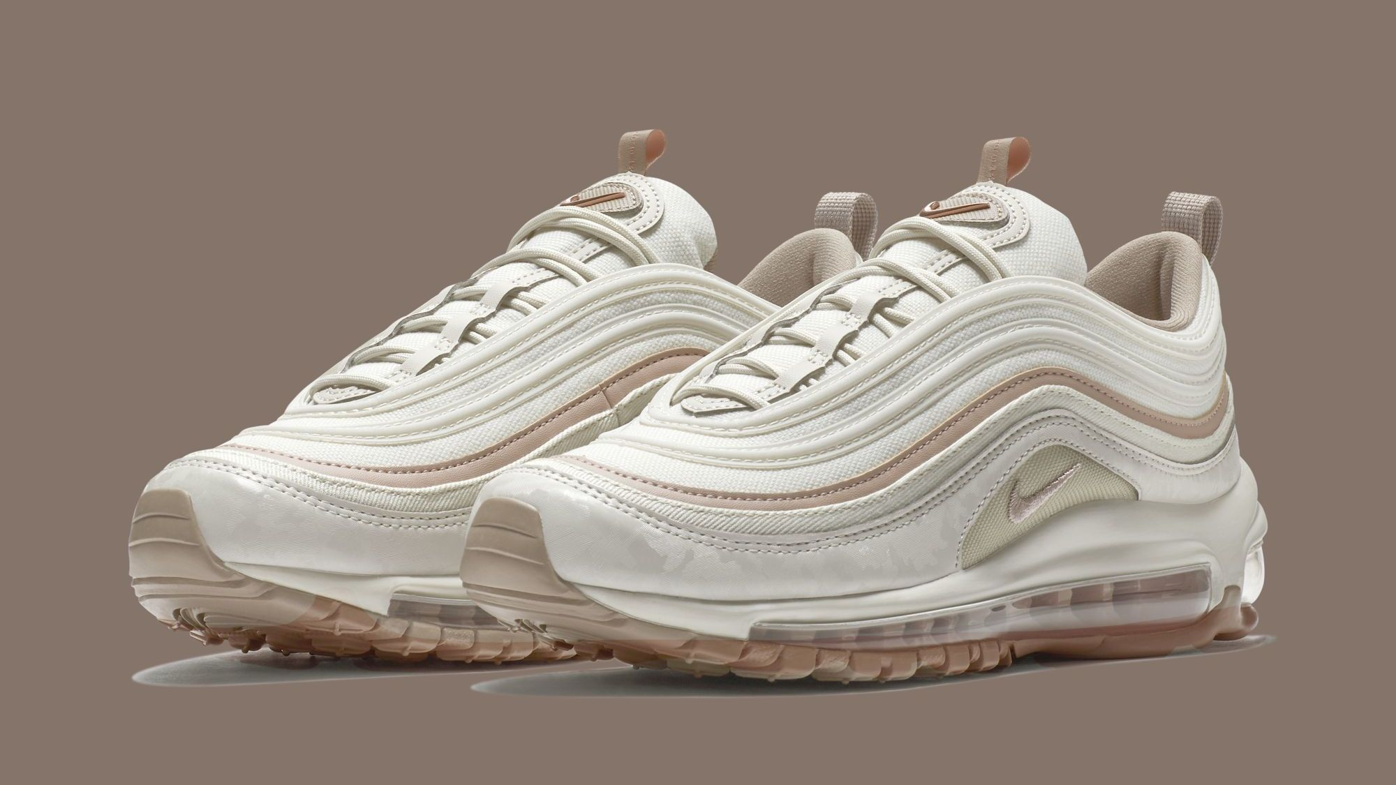 Nike Wmns Air Max 97 Premium Light Bone Diffused Taupe Sepia Stone 917646 004 Release Date Sole Collector