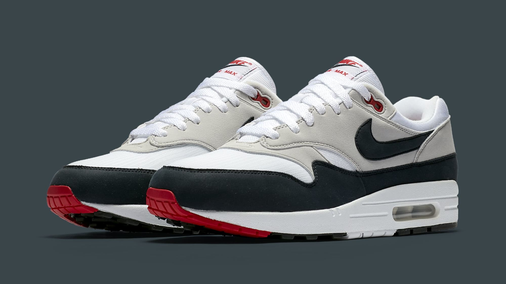 8569338b31 ... OG Anniversary Obsidian Nike Air Max 1 Obsidian Release Date Sole  Collector ...