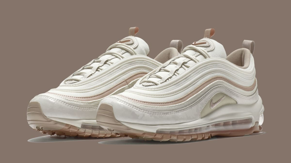 Gold Rush Auto >> Nike WMNS Air Max 97 Premium 'Light Bone/Diffused Taupe/Sepia Stone' 917646-004 Release Date ...