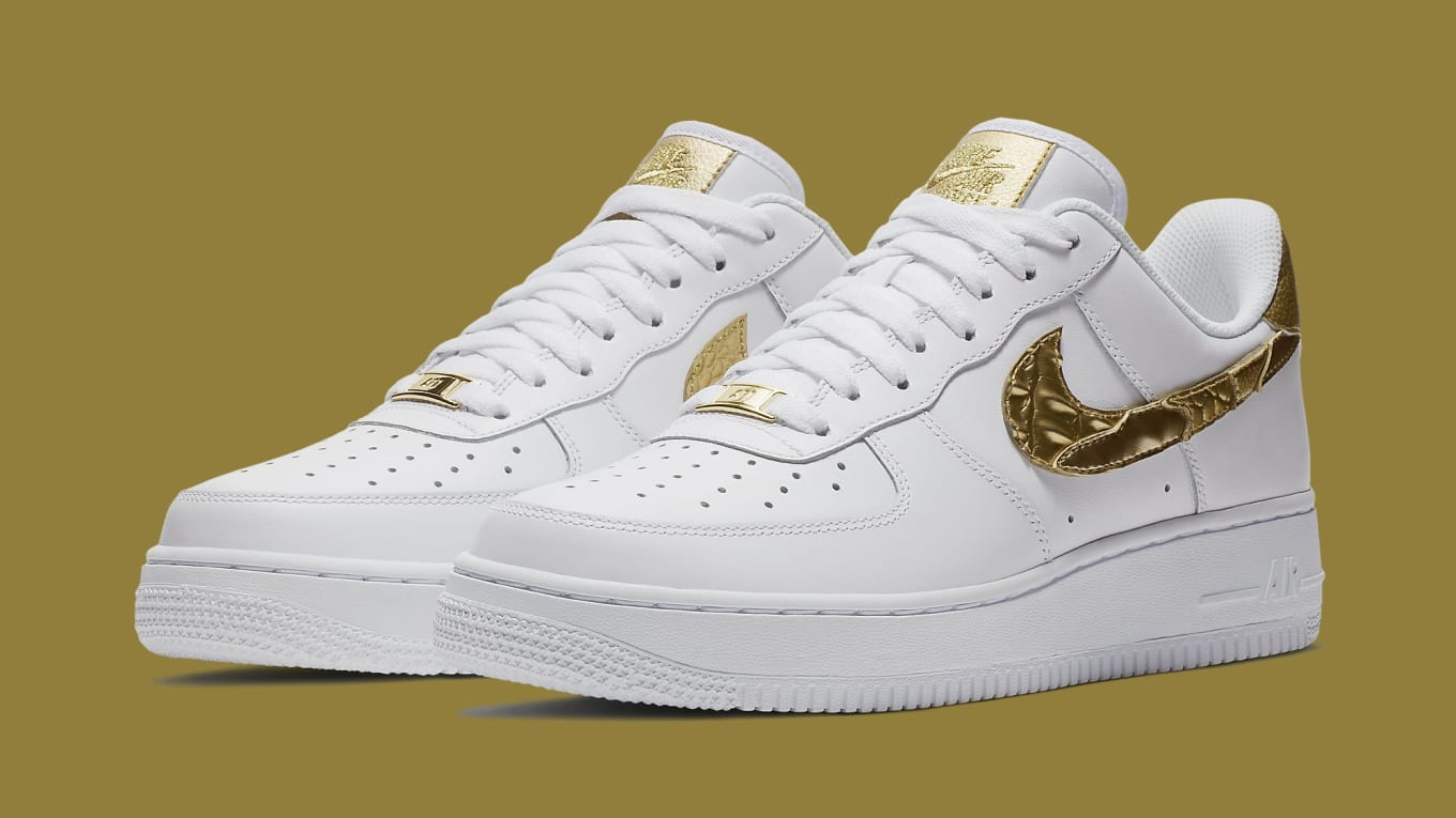 Nike Air Force 1 Low CR7 Golden Patchwork Releasing This