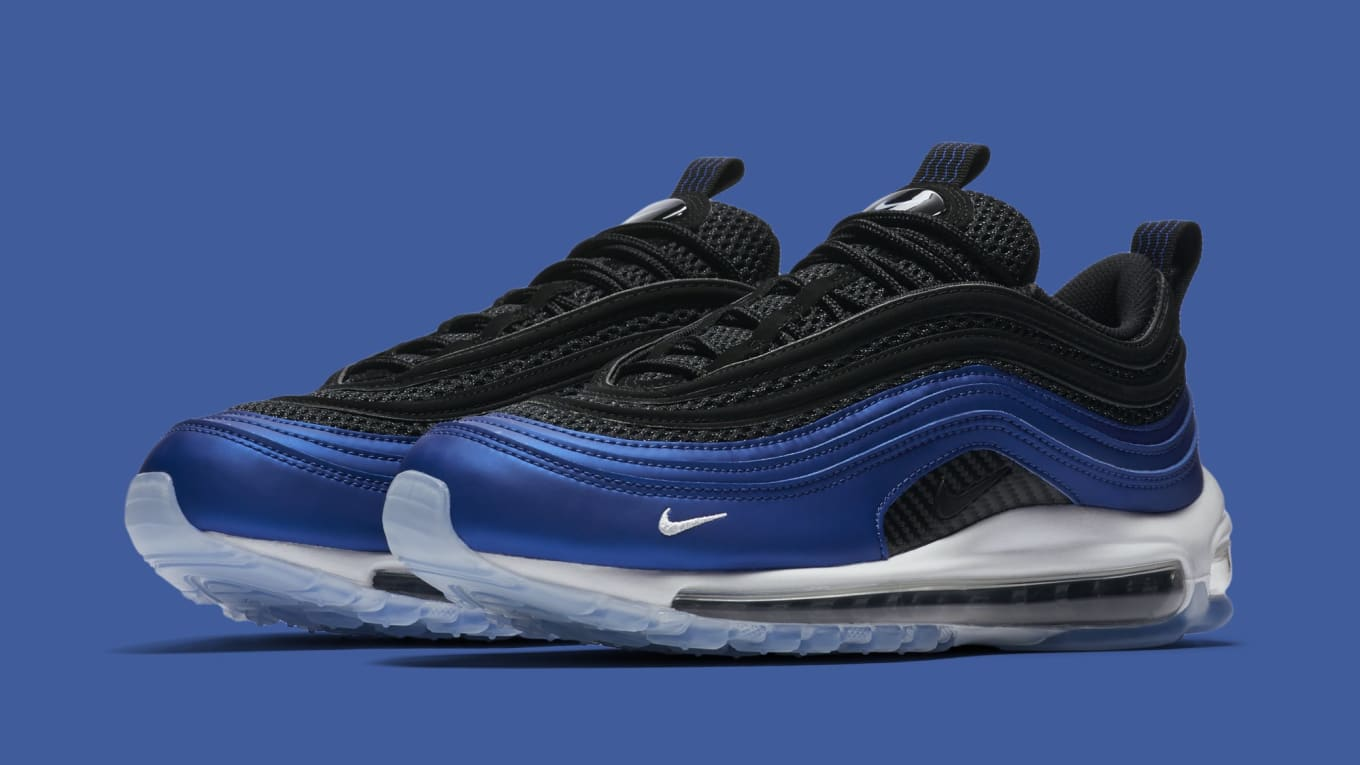 Nike Air Max 97 'Foamposite' Game RoyalWhite Black CI5011