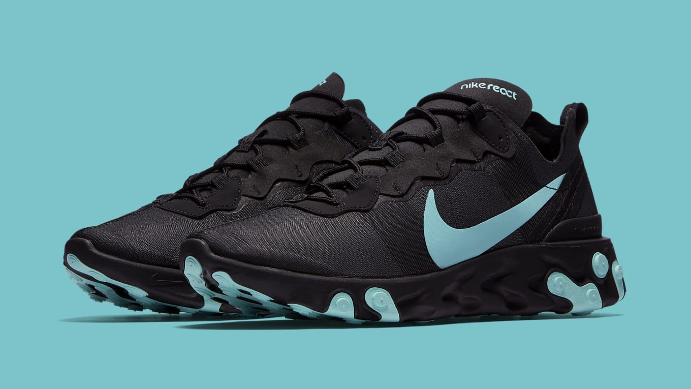 570ff637d81 Nike React Element 55 Black Jade BQ6166-004 Release Date