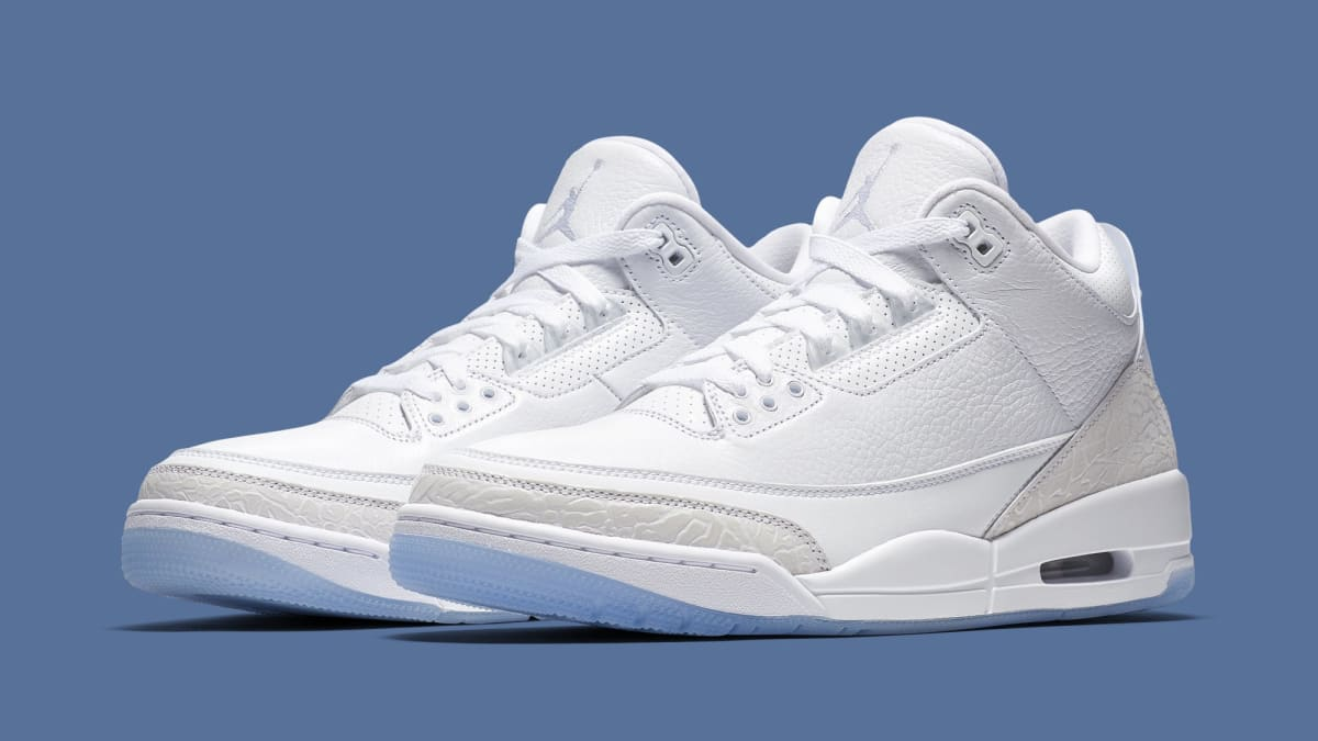 324063789158a8 Air Jordan 3  Triple White  136064-111 Release Date