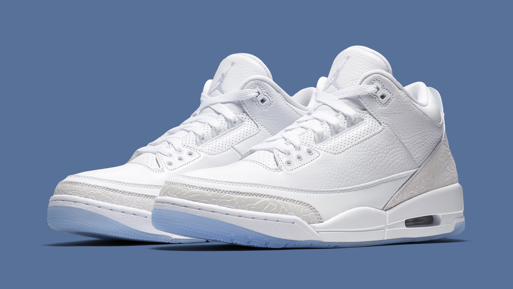 check out ad2d8 281e4 Air Jordan 3 'Triple White' 136064-111 Release Date | Sole ...