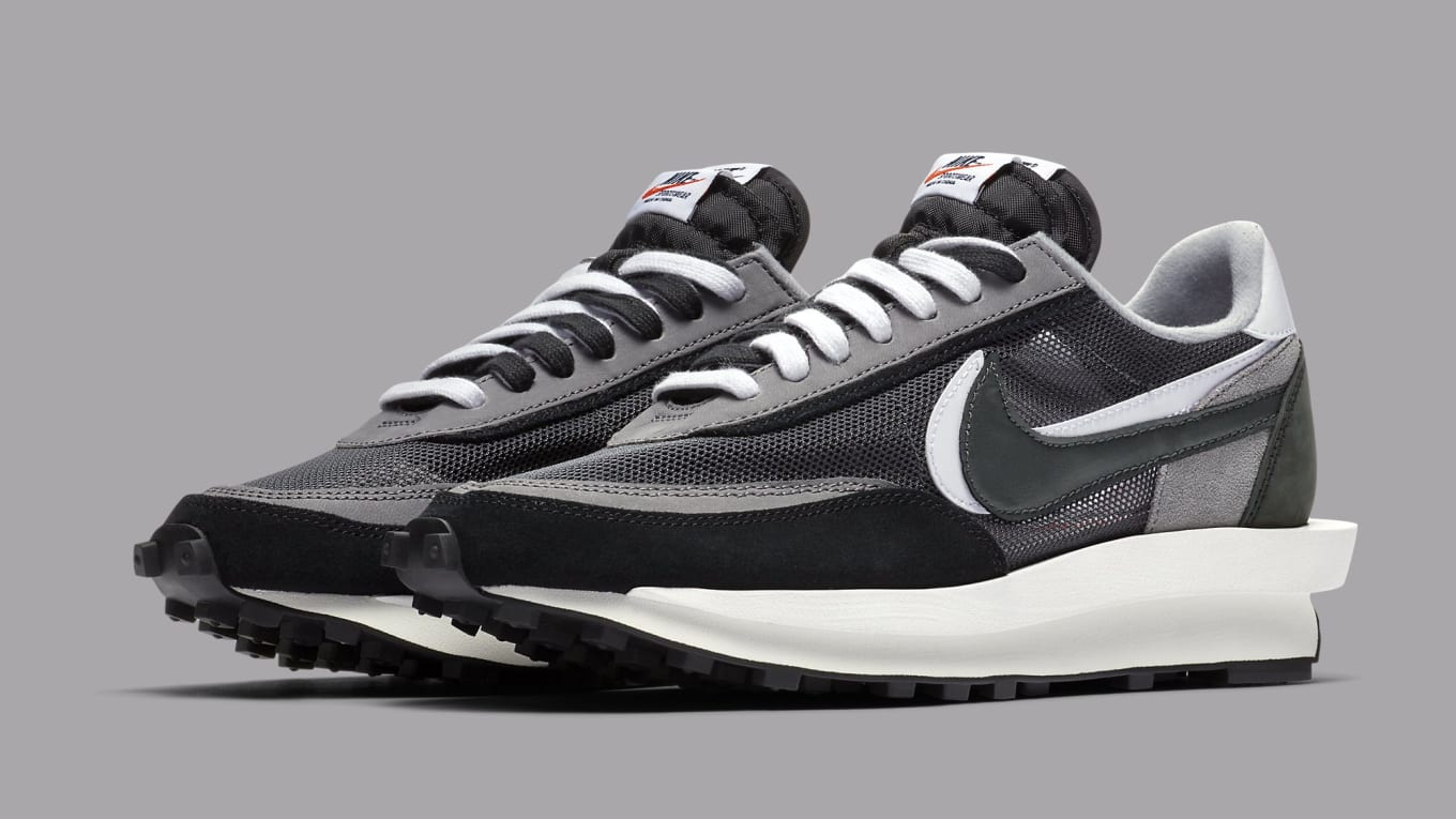 another chance outlet boutique designer fashion Sacai x Nike LDWaffle Black Anthracite BV0073-001 Summit ...